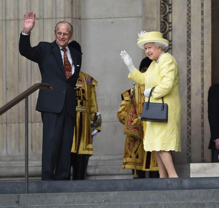 Prince Philip The Duke of Edinburgh and Queen Elizabeth II