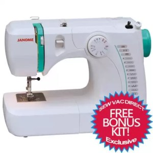 Janome 3128 Sewing Machine FREE BONUS Included