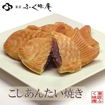 "Taiyaki (たい焼き, litt. ""dorade cuite"")"