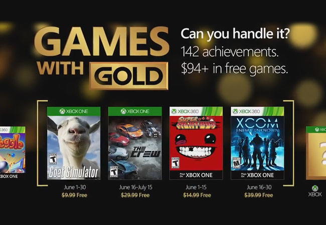 Games with Gold Junho