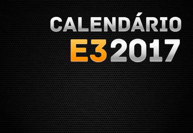 E3 Calendario.Acompanhe As Conferencias Da E3 2017