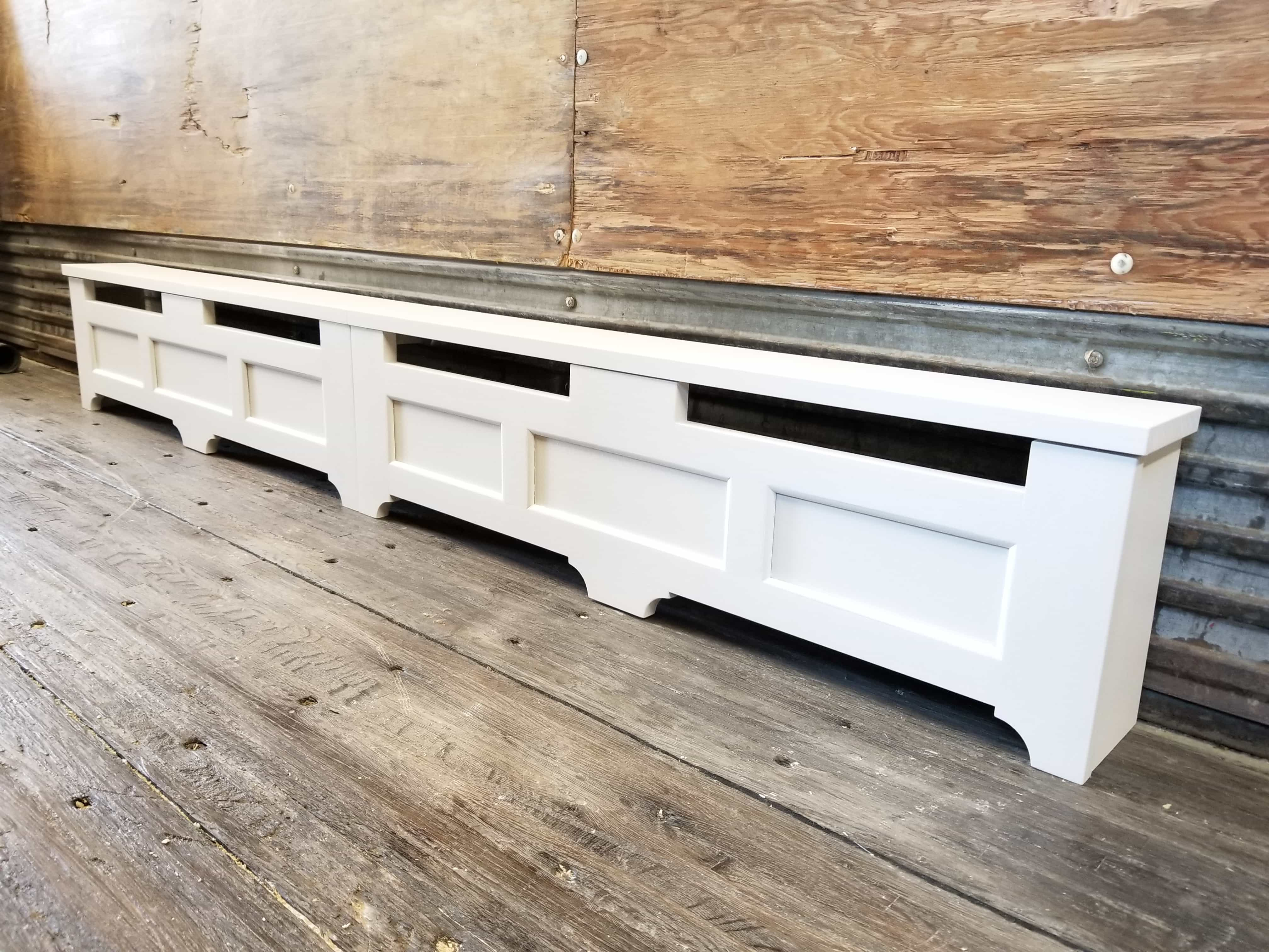 Custom Baseboard Heater Covers Shipped To You Direct Diy Installation