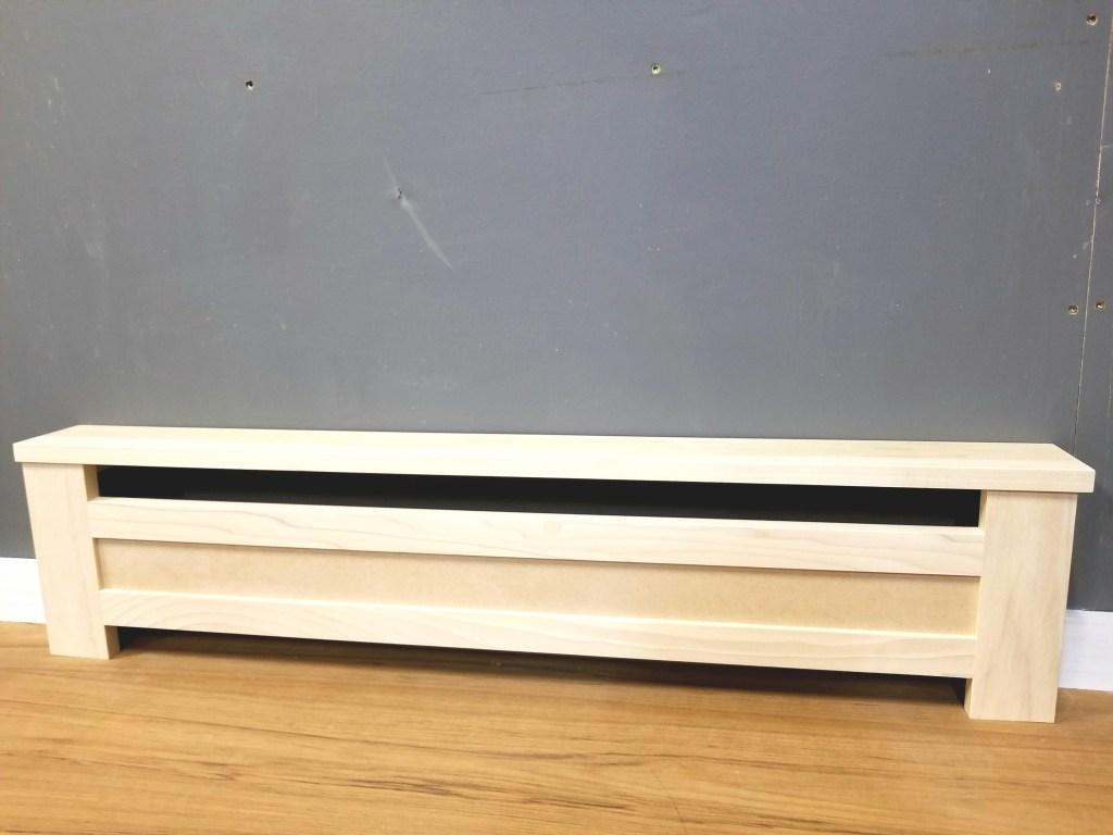 Custom Baseboard Radiator Covers