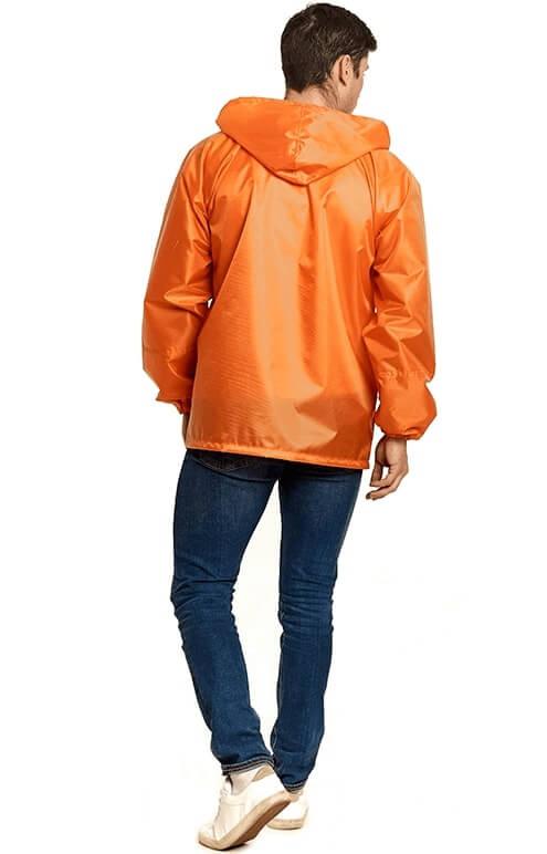 """Купить оранжевую куртку-дождевик """"Лидер"""" от производителя"""