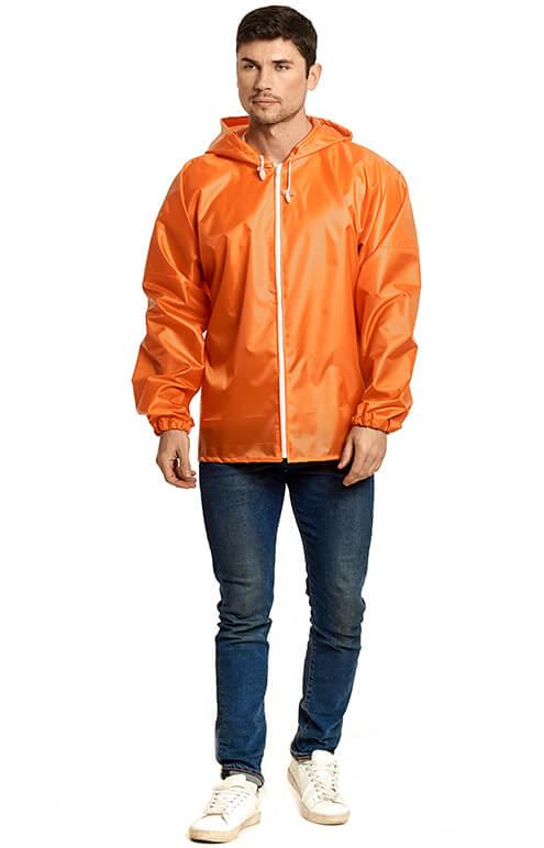 """Купить оранжевую куртку-дождевик """"Промо"""" от производителя"""