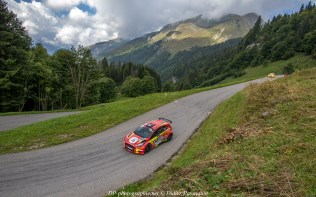 GREGORIE DAL ZOTTO/ HERVE DUBREUIL rallye du mont blanc 2018