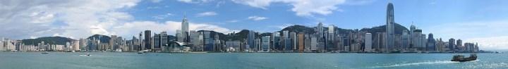 Skyline Hong Kong Island - overdag