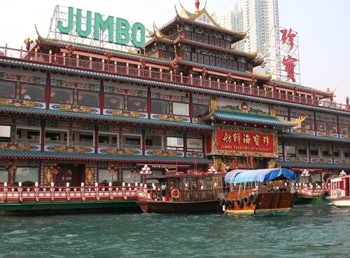 Jumbo Floating Restaurant - Aberdeen, Hong Kong, S.A.R. China