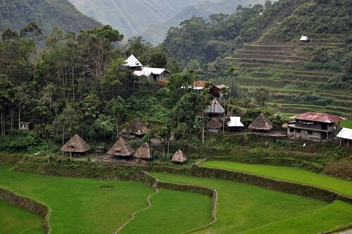 Batad Village - Provincie Ifugao, Luzon, Filipijnen