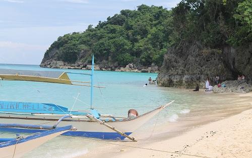 Puka Shell Beach - Boracay, Western Visayas, Filipijnen