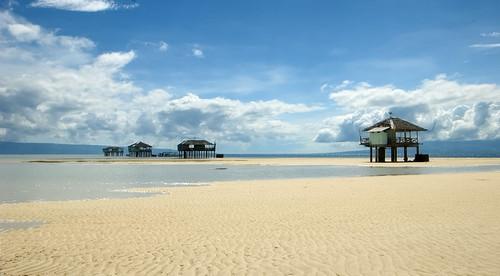 Manjuyod Sandbar - Bais, Negros Oriental, Central Visayas, Filipijnen