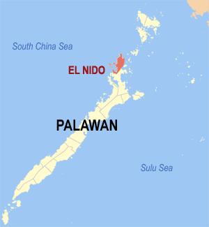 Gemeente El Nido op Palawan Island, Filipijnen