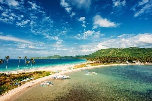 Twin Beach, Nacpan & Calitang - El Nido, Palawan, Filipijnen