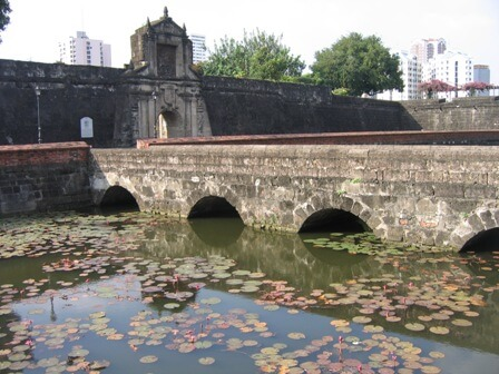 Fort Santiago - Intramuros, Manilla, Luzon, Filipijnen