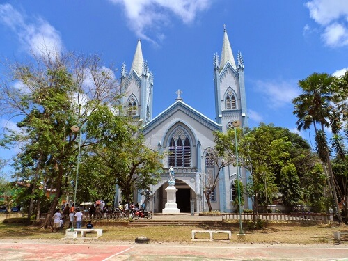 Immaculate Conception Cathedral - Puerto Princesa, Palawan, Filipijnen