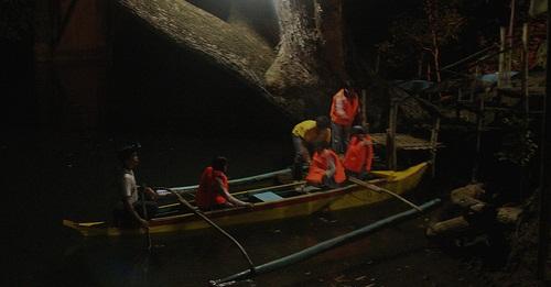 Vertrek vuurvliegjes tour aan de Iwahig River - Puerto Princesa, Palawan, Filipijnen