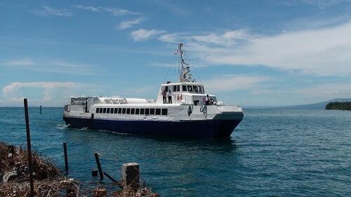 De veerboot van Bohol naar Camiguin en Cagayan de Oro, Filipijnen