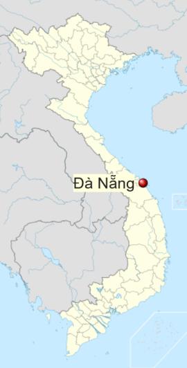 Locatie Da Nang (Danang) - Midden Vietnam