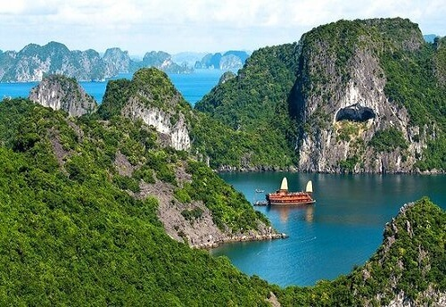 Halong Bay Cruise, Noord Vietnam