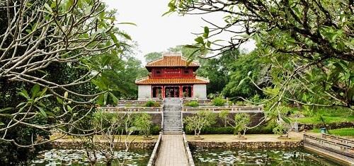 Minh Mang Tempel - Hue, Vietnam