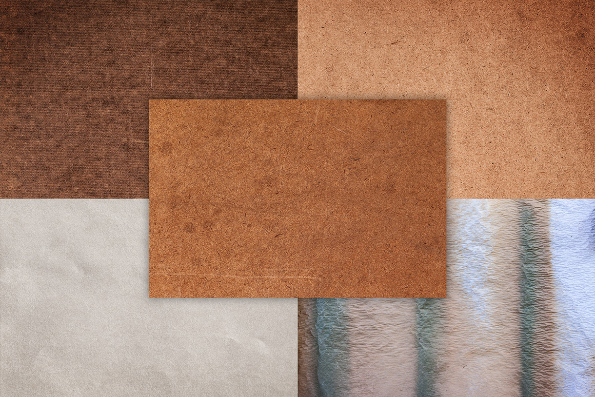 Paper And Cardboard Textures Pack Volume 2 Design Panoply