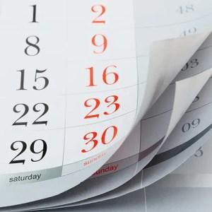 Calendar (End of Year FSA spending)