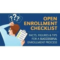 Enrollment Season Checklist