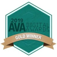 AVA Digital Award - Gold Winner