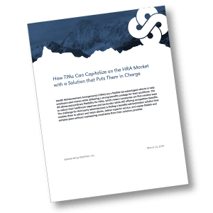 "DataPath Whitepaper ""How TPAs Can Capitalize on the HRA Market with a Solution that Puts Them in Charge"" analyzes TPA concerns about complex HRAs and solution capabilities."