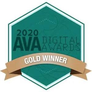 2020 AVA Digital Gold Award