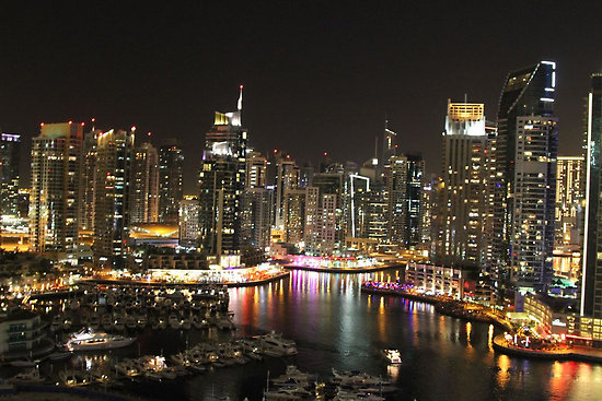 landscape Dubai Marina