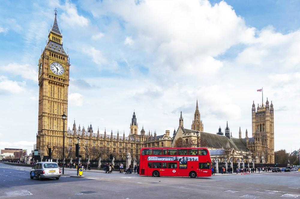Big Ben and Bus