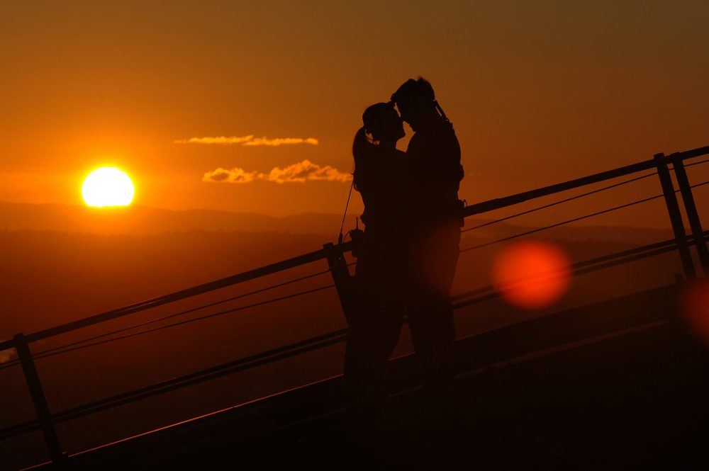Romantic Sunset Climb Sydney Harbour Bridge Source Tourism Australia; Destination NSW