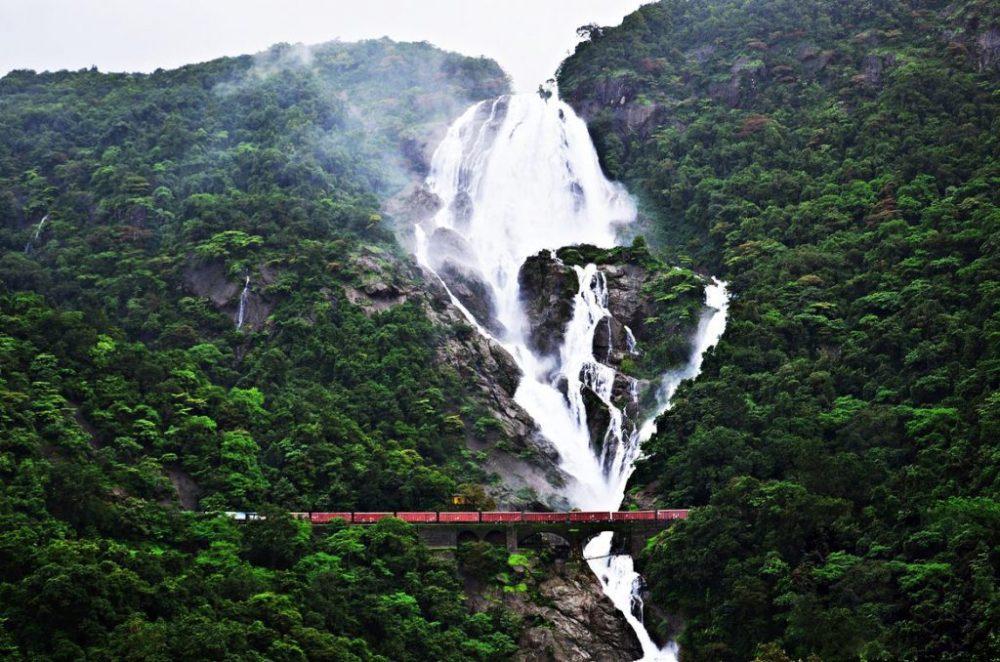 Offbeat Goa Dudhsagar Waterfalls