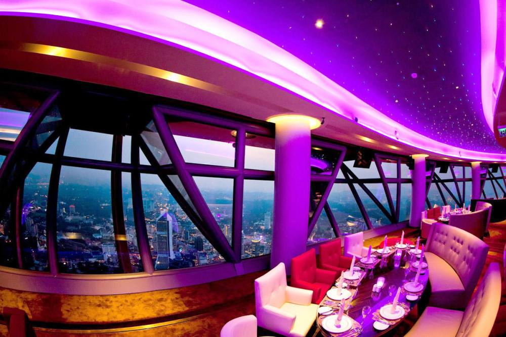 Revolving Restaurant at the KL Towers