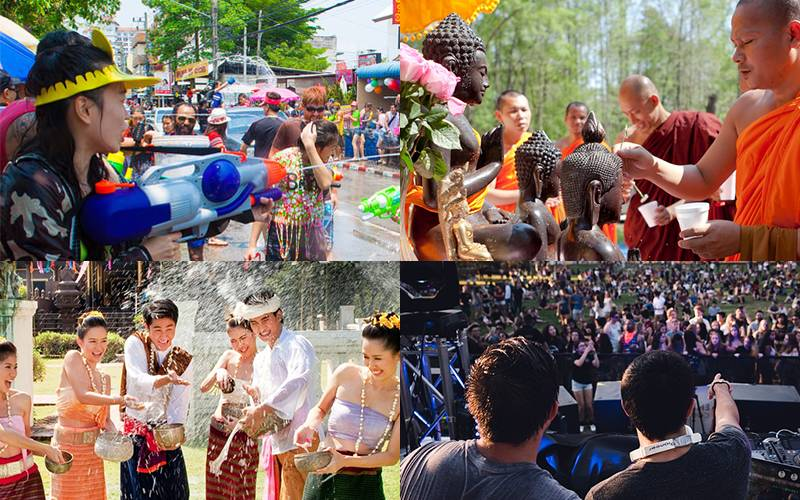 Thai festival Songkran