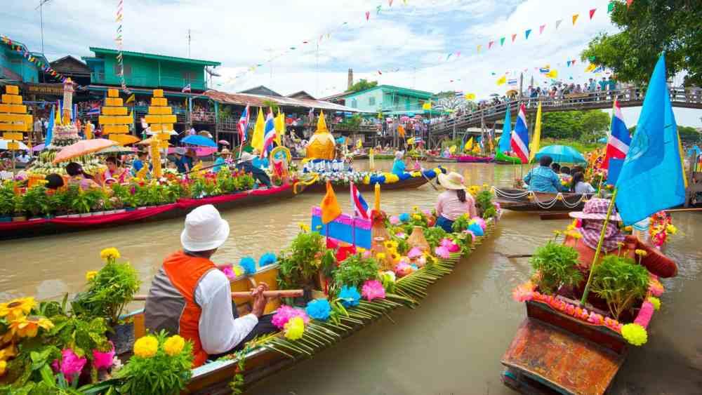 Floating Market from Bangkok