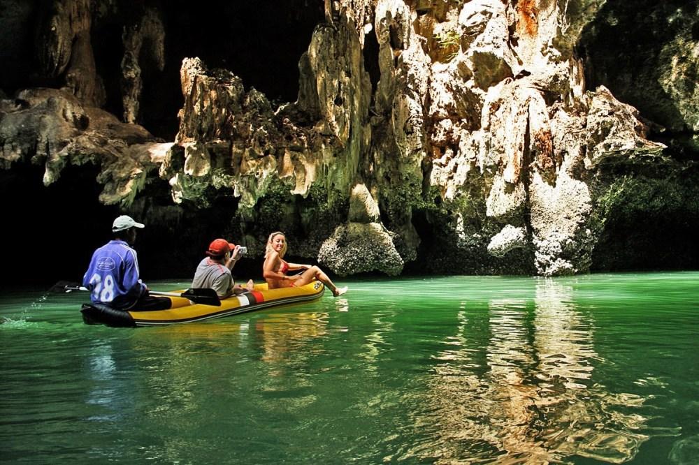 Sea Cave Kayaking, thailand