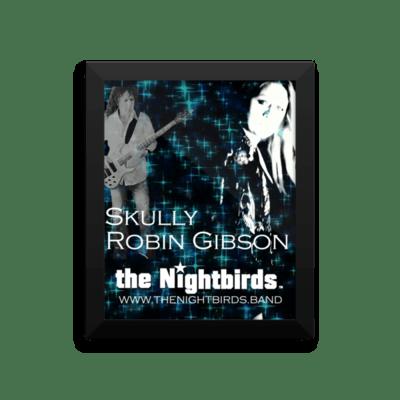 Skully & Robin from the Nightbirds Framed Luster Photo Paper Poster