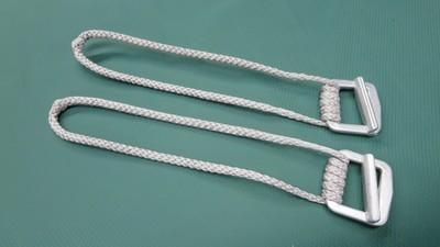 Cinch Buckles w/ Loops (pair)