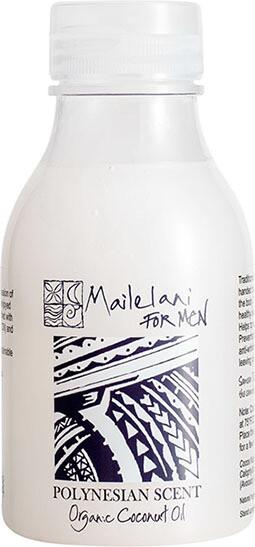 For Men (Polynesian Scent) Organic Coconut Body Oil 300ml / 10.14 fl oz