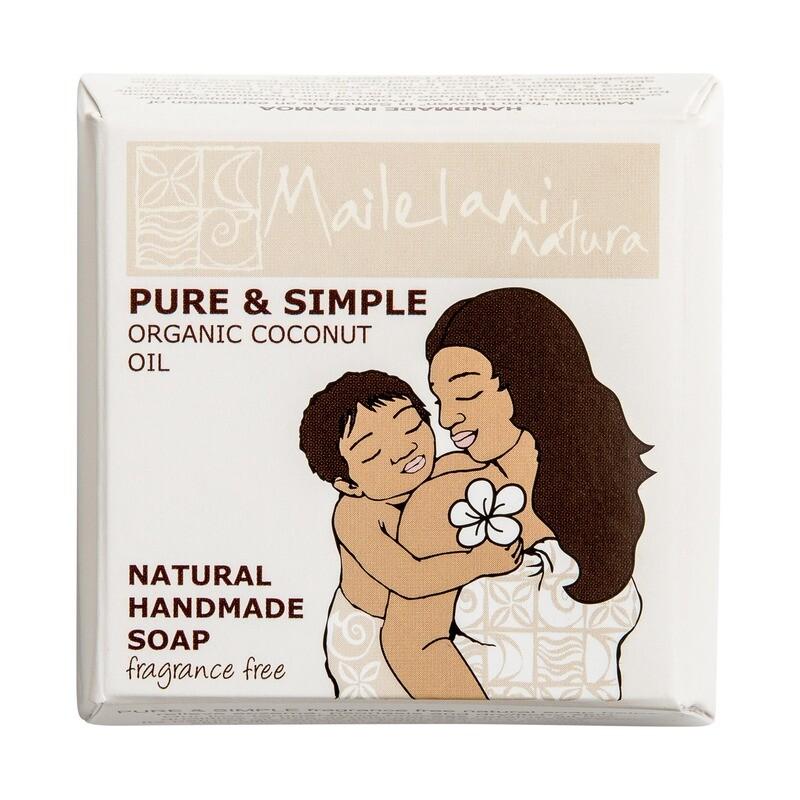 Pure & Simple Coconut Handmade Soap 110gm / 3.9 oz