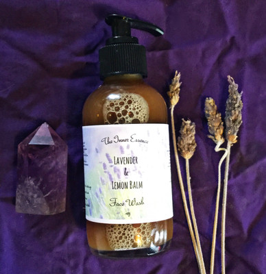 Lavender & Lemon Balm Face Wash
