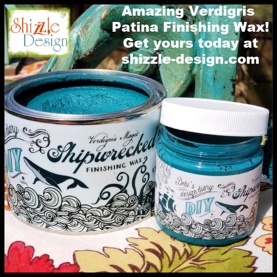 Verdigris Wax by DIY Paint