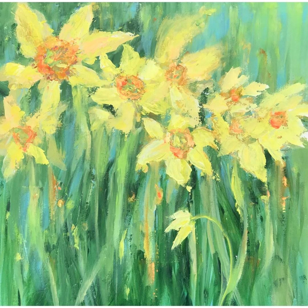 Anne Waters -- Dazzling Daffodils