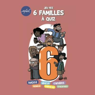 Promo spéciale confinement : 1 «Jeu des 6 familles à quiz» acheté = 1 abonnement à «UFAL Info» offert (Frais de port offert)