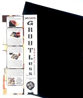 """NO Days Groutless, Pewter, 1 Sheet Roll 12"""" x 48"""""""