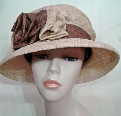 CM/Straw Cloth Hat