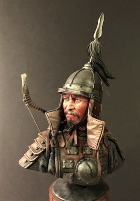 Mongol Archer by Dave Maddox
