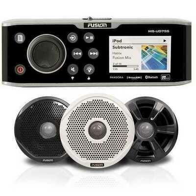 FUSION UD755 Bundle w/7022 Speakers - 7